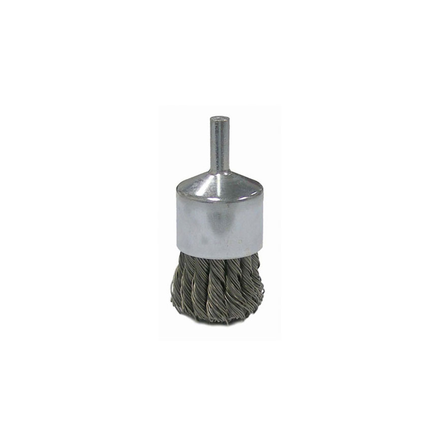 """ATD Tools 1-1/8"""" Knot Wire End Brush - 8254"""