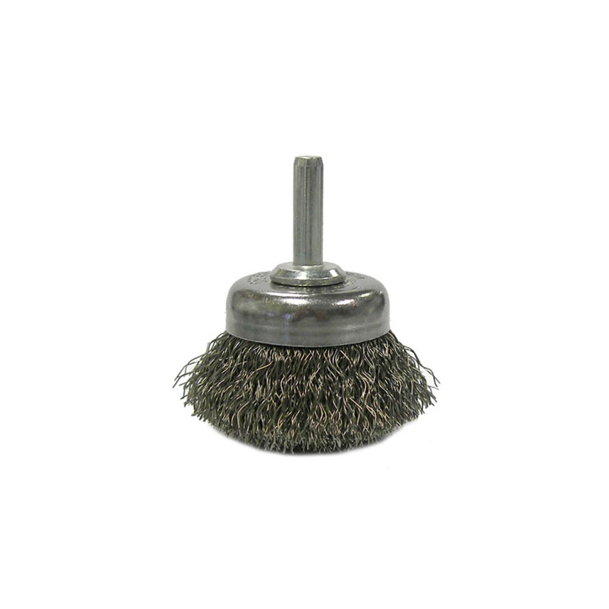 """ATD Tools 1-3/4"""" Utility Crimped Wire Cup Brush - 8258"""
