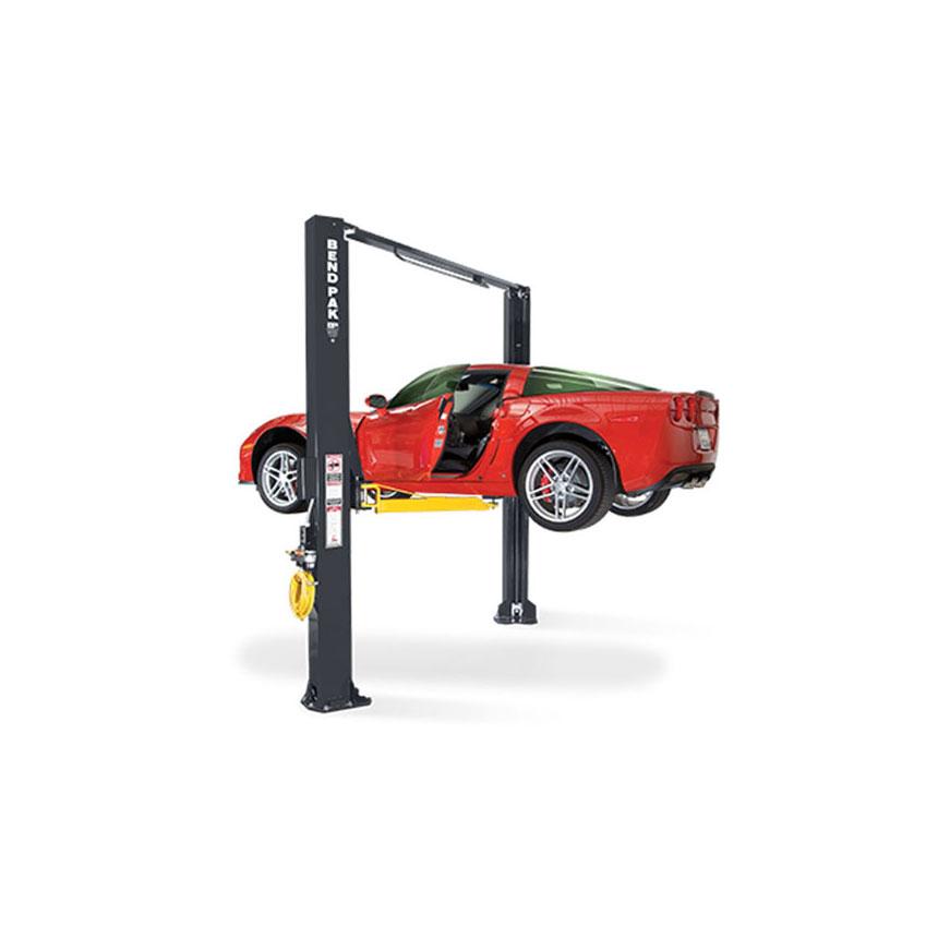 Bendpak 10,000-lb. Asymmetric Clearfloor Adjustable Width Lift, Screw Pads - XPR-10AS