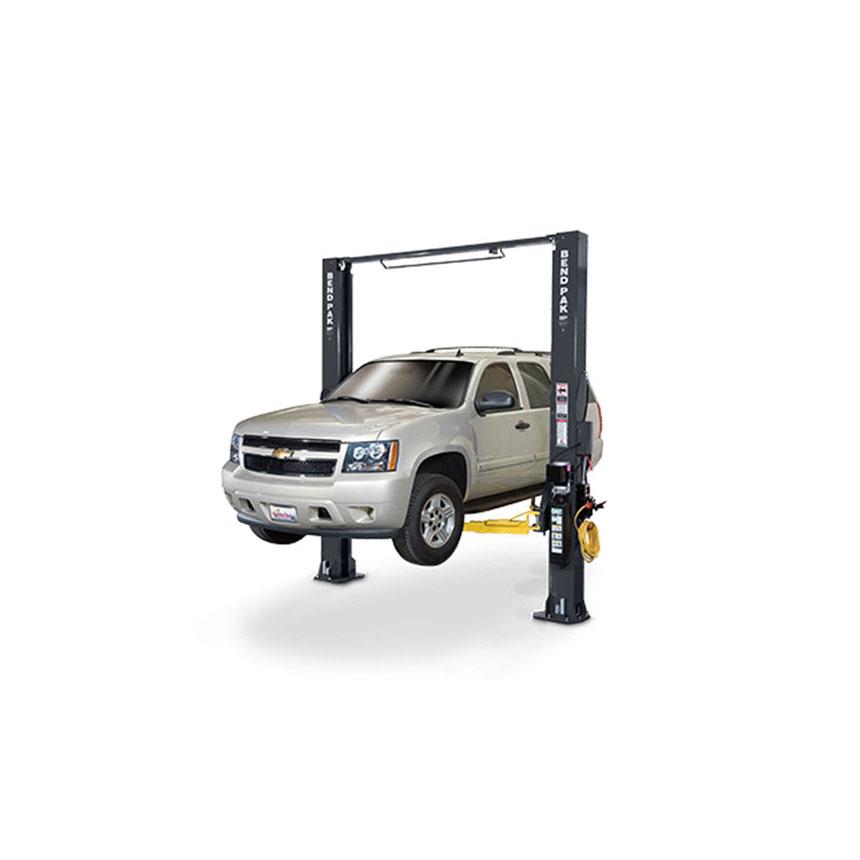 Bendpak 10,000-lb. Symmetric Clearfloor Adjustable Width Lift, Low-Profile Arms - XPR-10S-LP