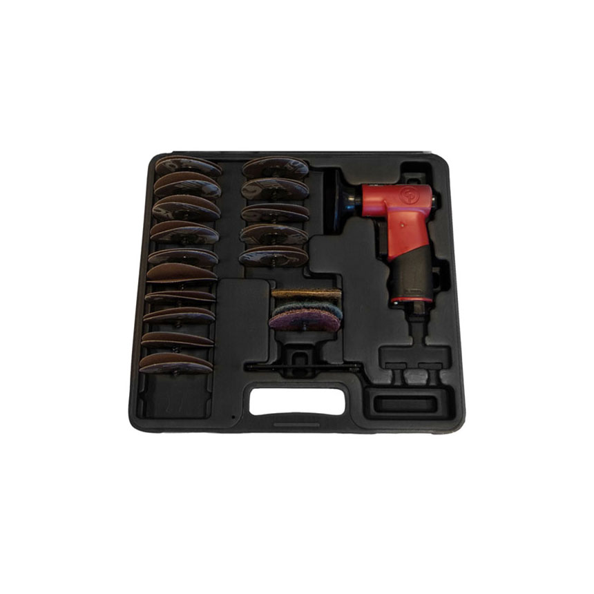 """Chicago Pneumatic 2"""" Angle Grinder/Cut-Off Tool Kit - CP7500DK"""