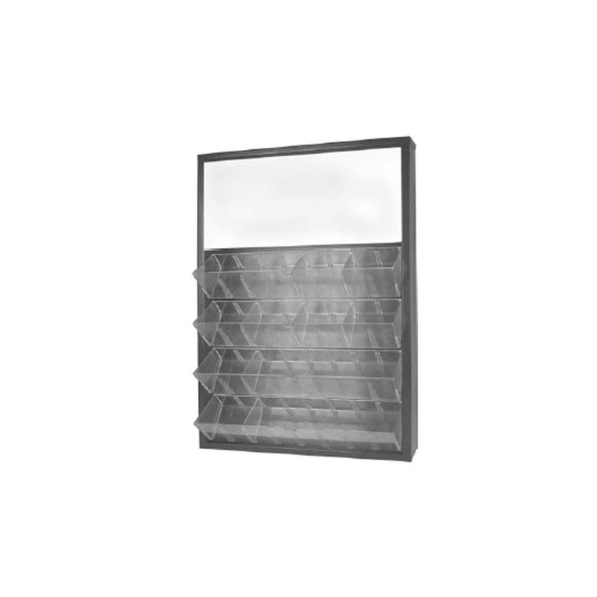 Disco Automotive Mini Bulb Metal Cabinet, Black Finish - 80321