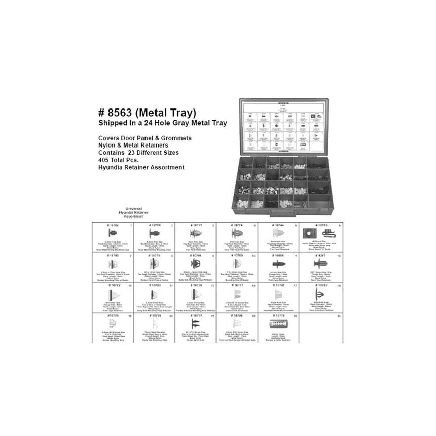 Disco Automotive Hyundai Retainer Assortment - 8563
