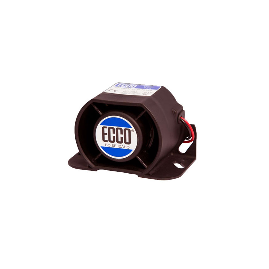ECCO 600 Series Back-up Smart Alarm, 107dB, 12-36VDC - 630N