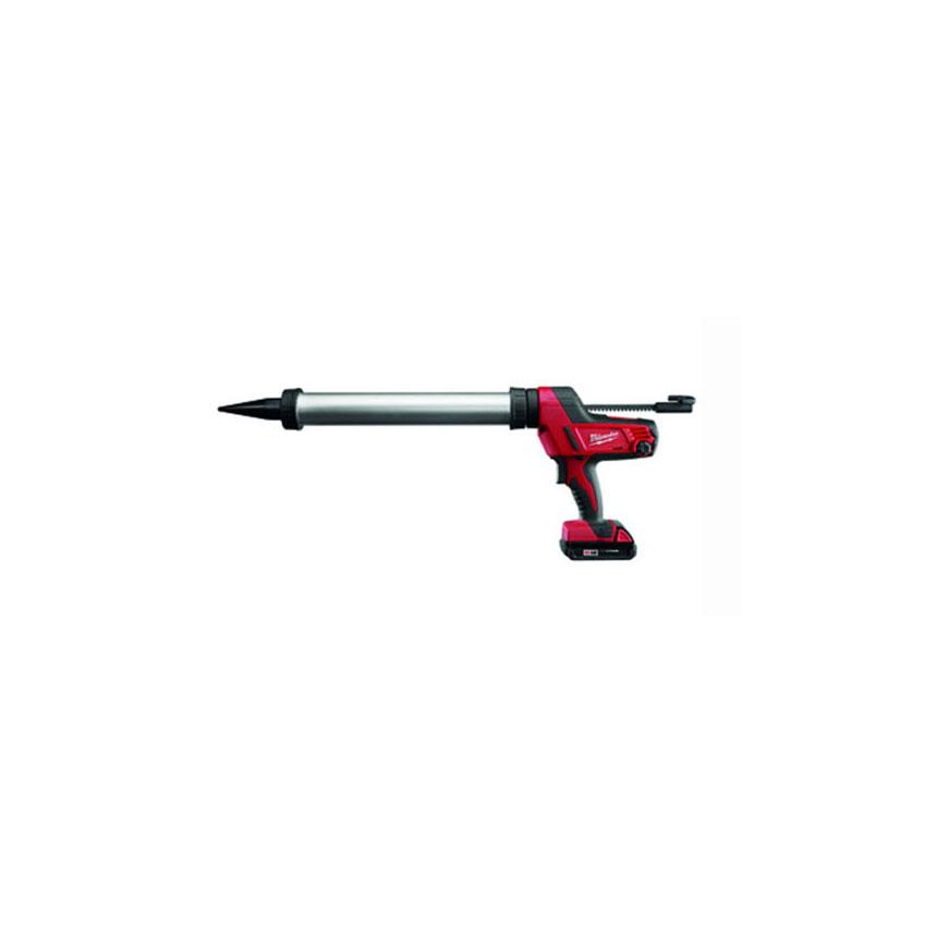 Equalizer® Milwaukee® M18 Cordless 20 oz. Sausage Caulking Gun Kit (Aluminum Barrel) - 264221CT