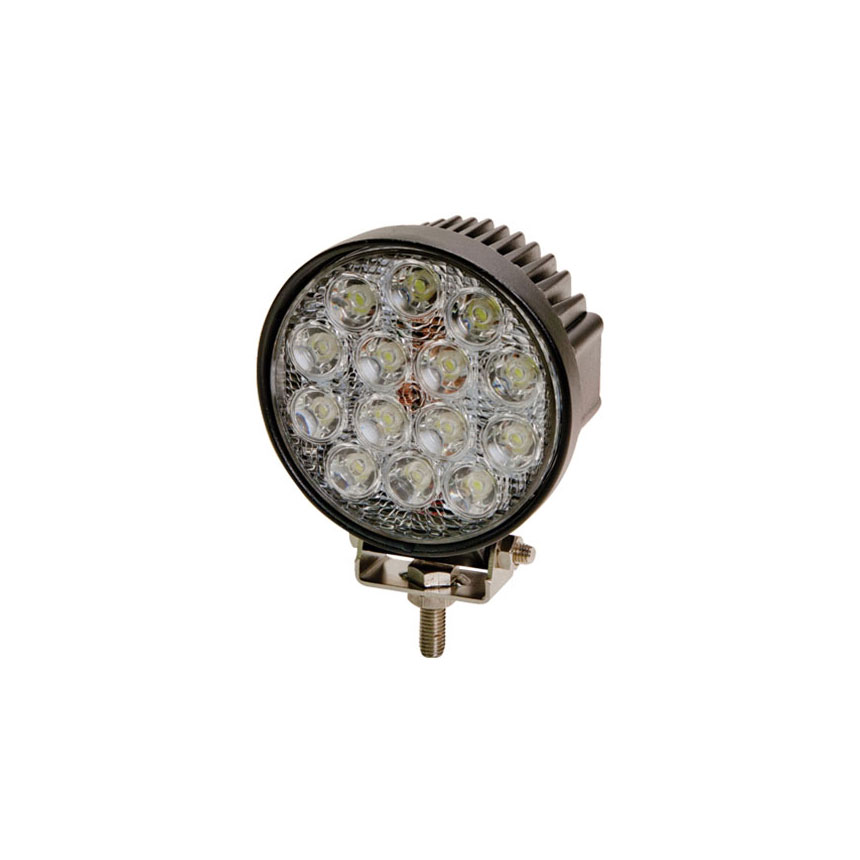 ECCO 14-LED Round Worklamp, Flood Beam, 12-24VDC - EW2431