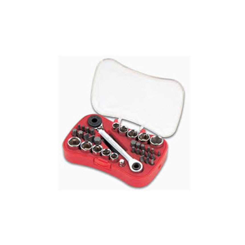 GearWrench 35 Piece Micro-Screwdriver Bit and Ratchet Set - 85035
