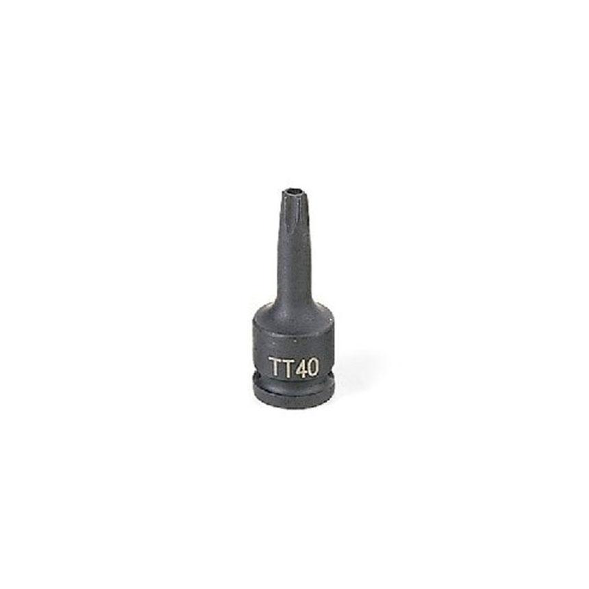 "Grey Pneumatic  3/8"" Drive x TT40 Standard Length Tamper Proof - 1140TT"
