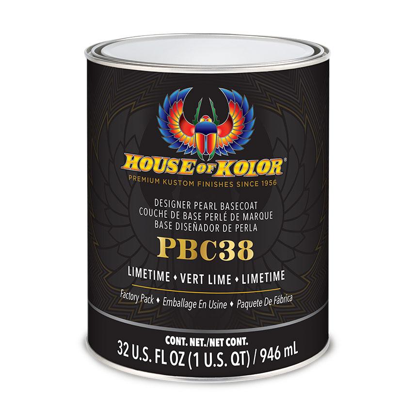 House of Kolor SHIMRIN® Limetime Designer Pearl Quart - PBC38Q