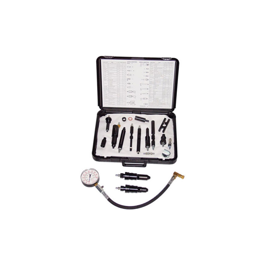 ATD Tools Heavy-Duty Global Diesel Compression Test Set - 5682