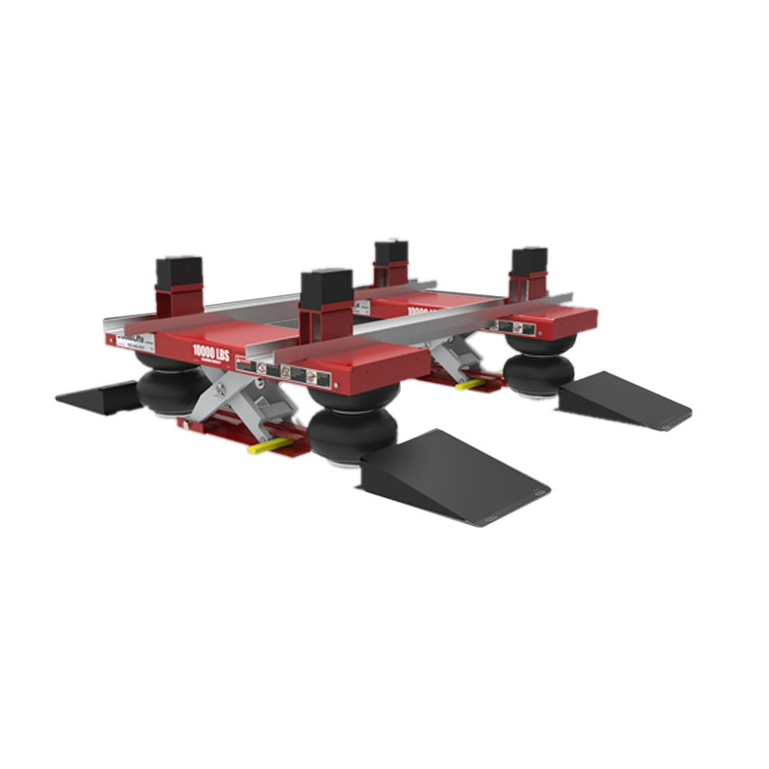Herkules Boss Lifts Tandem - low rise - no safety lock - assembly required Includes 13709AL Cross Tube Kit - VLA03