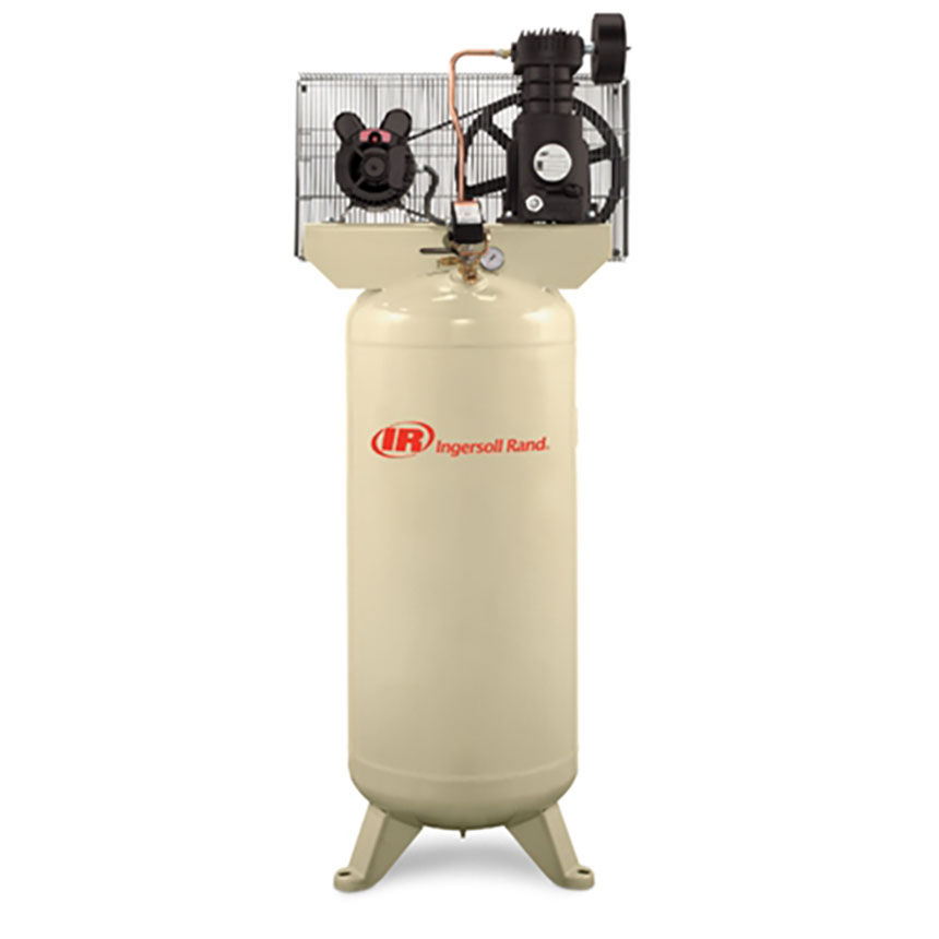 Ingersoll Rand 3HP Single Stage 60 Gallon Vertical Air Compressor - SS3L3
