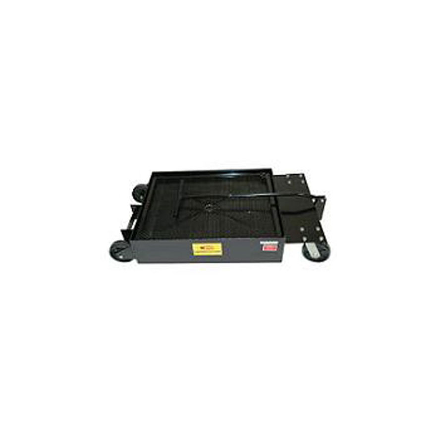 John Dow Industries 17-Gallon Low-Profile Portable Oil Drain - JDI-LP4