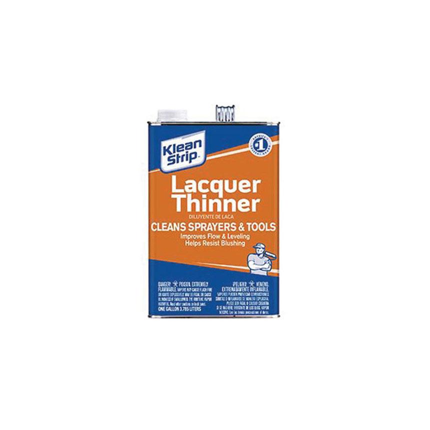 Klean Strip Lacquer Thinner, Gallon - GML170