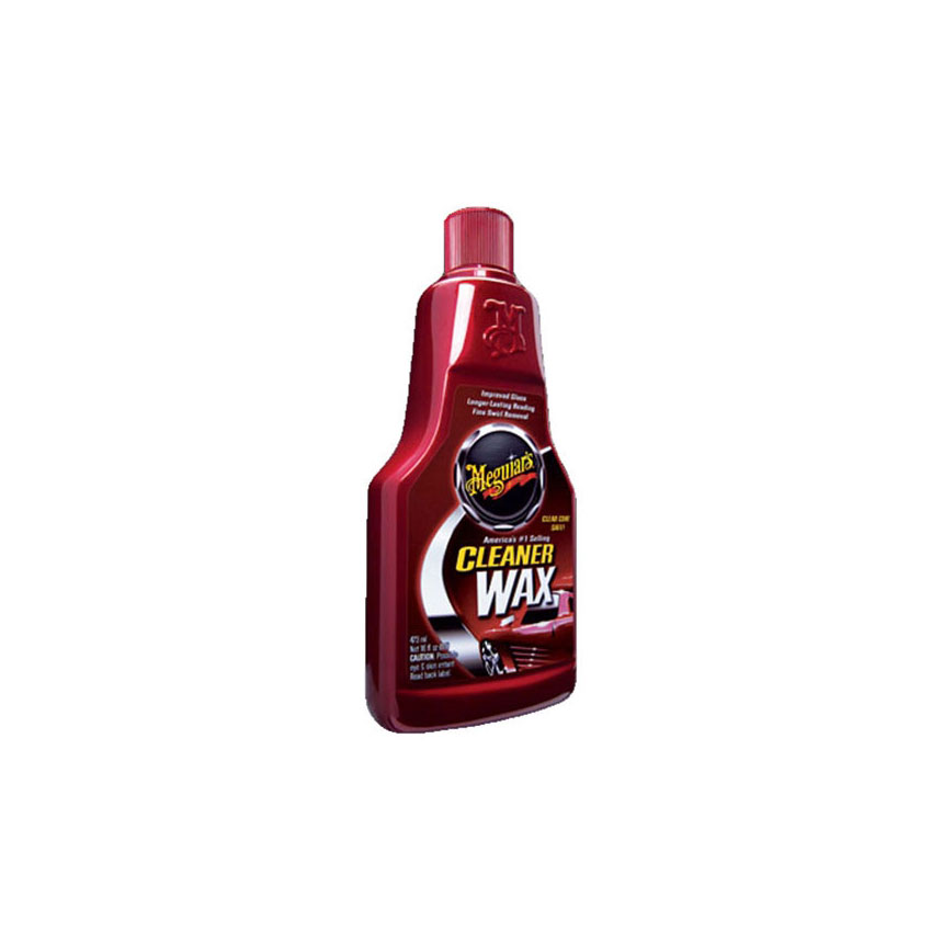 Meguiar's Cleaner/Wax, Liquid, 16oz. - A1216