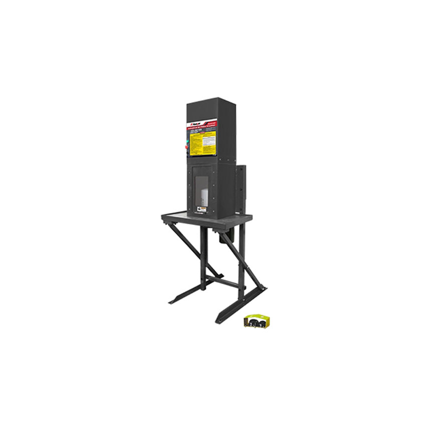 Ranger Industrial 25-Ton Capacity High-Speed Oil Filter Crusher with Stand - 5150024