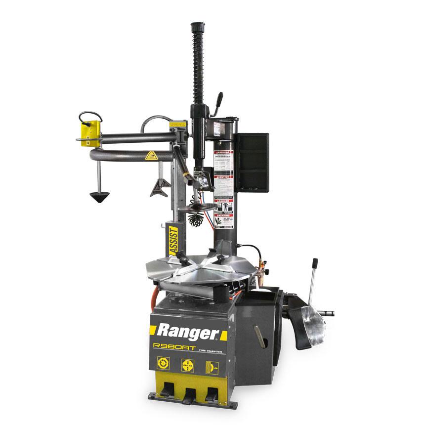 "Ranger RimGuard 50"" Capacity Swing Arm & Single Power Assist Tire Changer - R980AT"