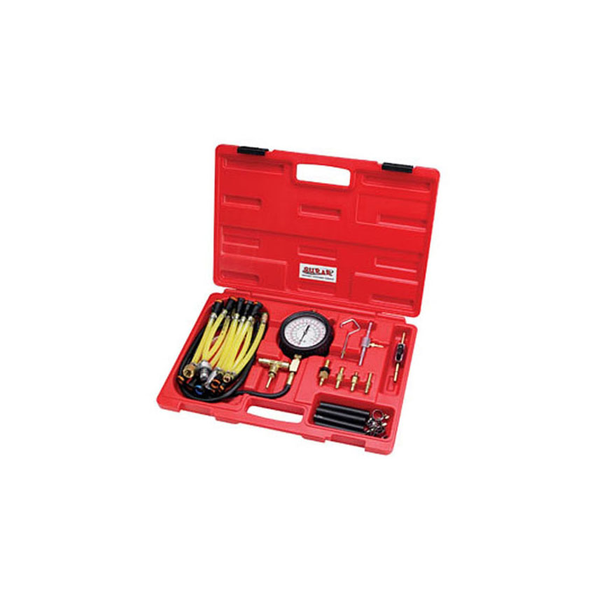 SUR&R Auto Parts Deluxe Fuel Injection Pressure Tester Kit - FPT22