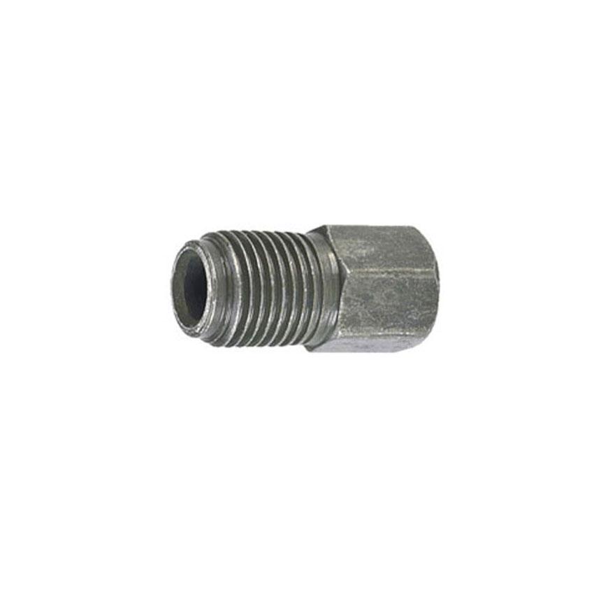 SUR&R Auto Parts M10 x 1.0 Long Inverted Flare Nut - BR270
