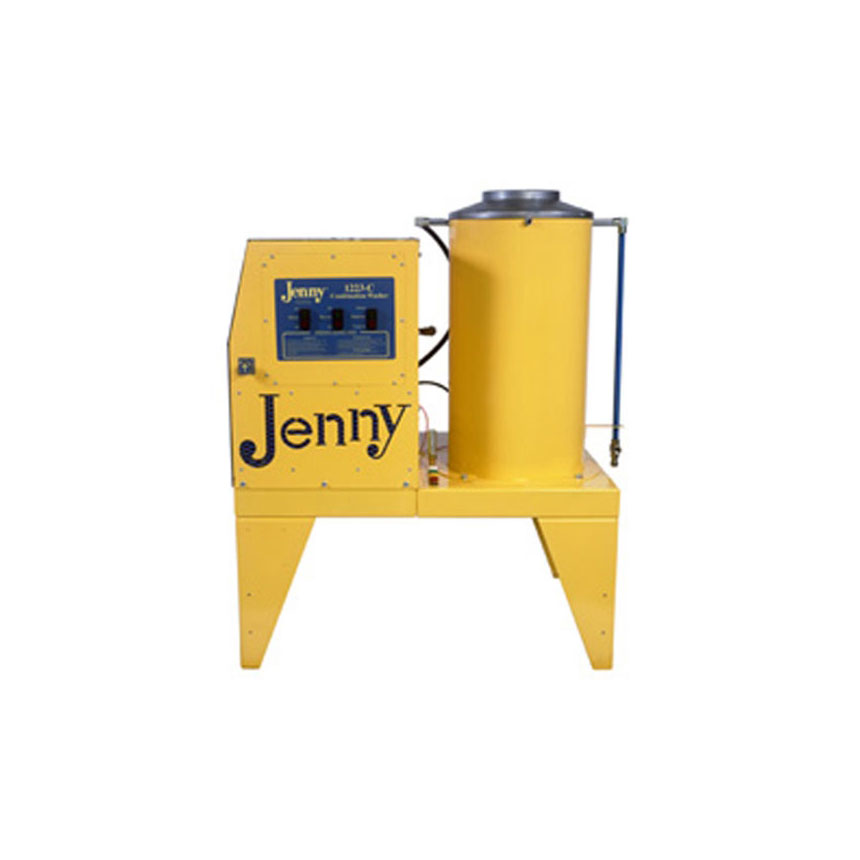 Steam Jenny Gas Fired 1200 PSI at 2.3GPM Pressure Washer/70GPH Steam Cleaner, 110V-1 Phase - 1223-C-GES