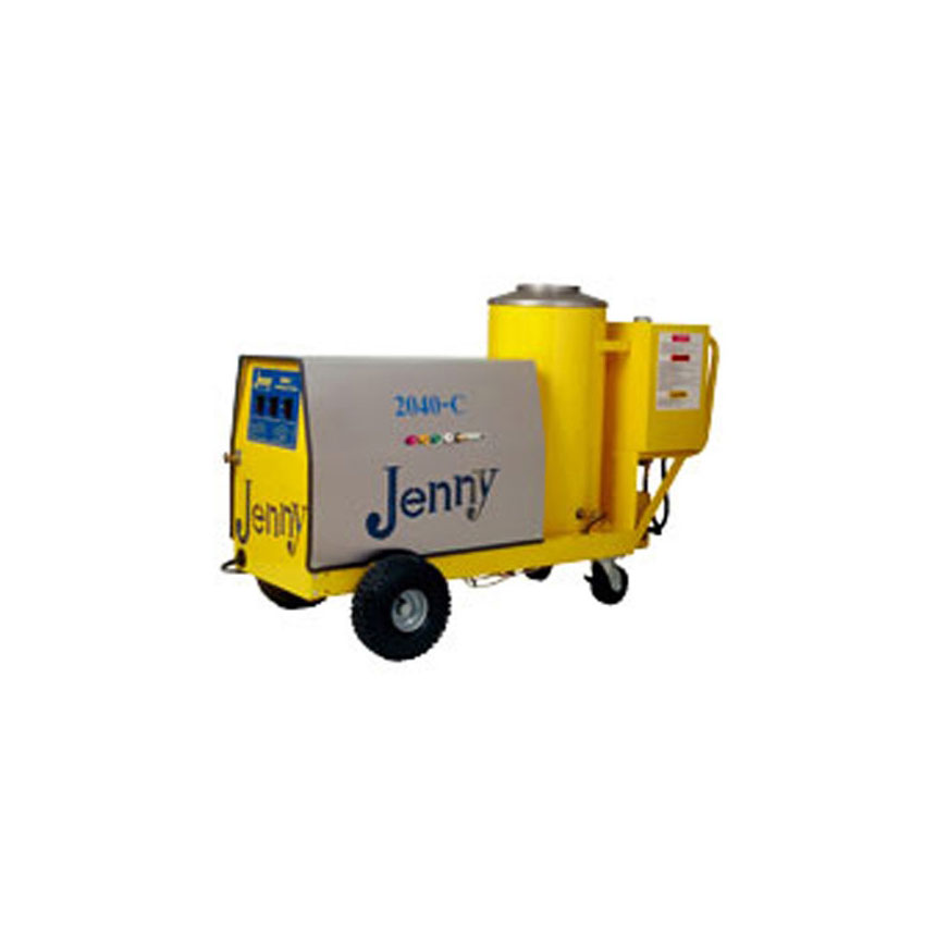 Steam Jenny Oil Fired 2000 PSI at 4GPM Pressure Washer/110 GPH Steam Cleaner, 11hp Gas Engine - 2040-C-OMP