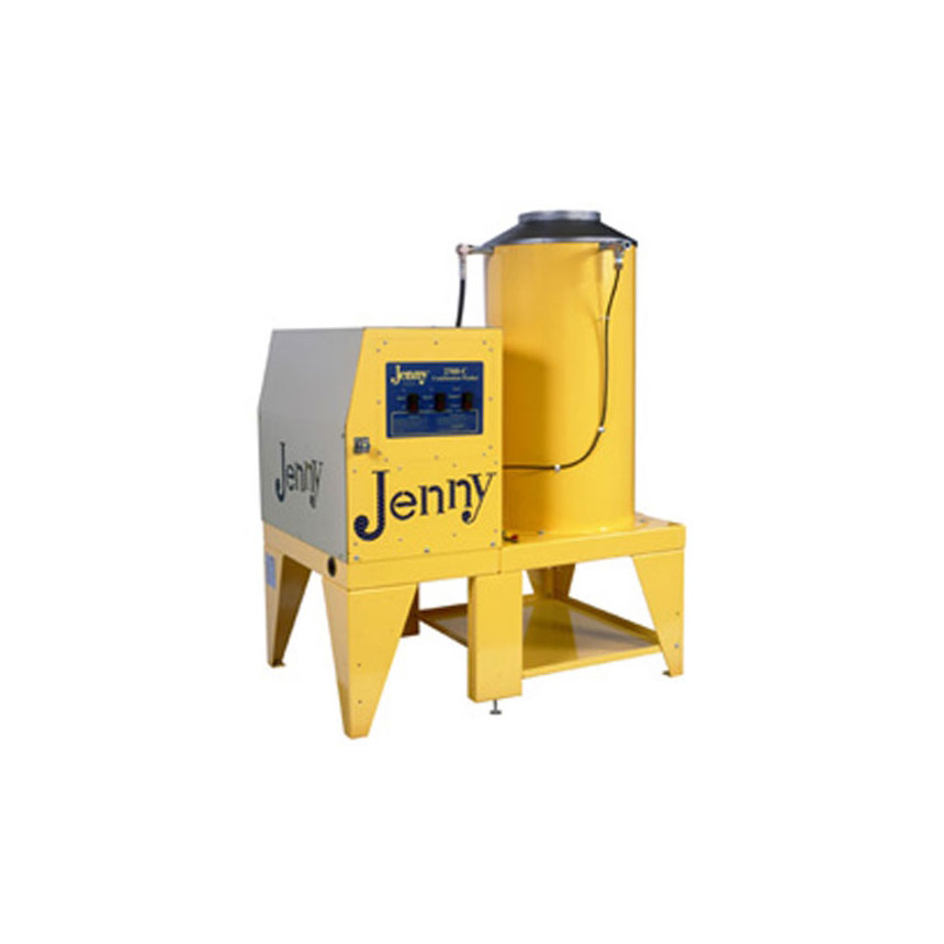 Steam Jenny Gas Fired 2500 PSI at 6 GPM Pressure Washer/180 GPH Steam Cleaner, 230V-3Phase - 2560-C-GES