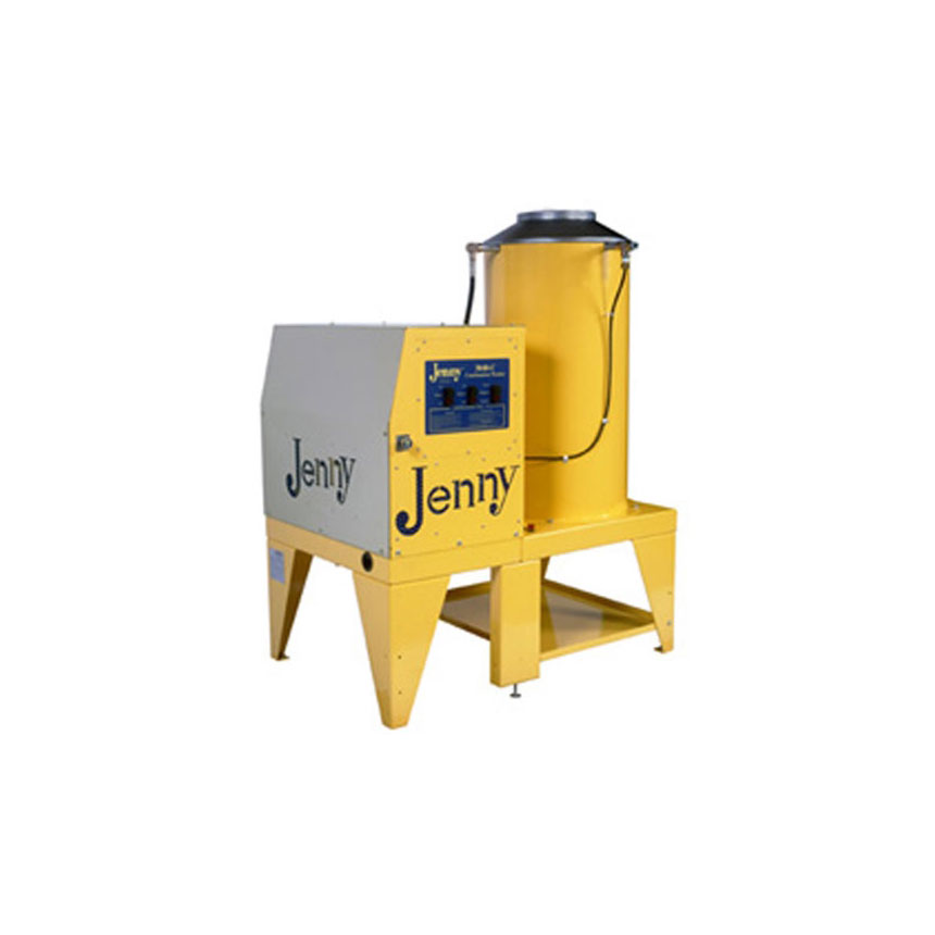 Steam Jenny Gas Fired 3000 PSI at 4 GPM Pressure Washer/110 GPH Steam Cleaner, 230V-3Phase - 3040-C-GES