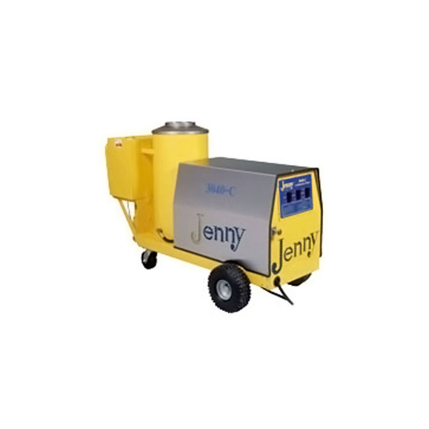 Steam Jenny Oil Fired 3000 PSI at 4 GPM Pressure Washer/110 GPH Steam Cleaner, 230V - 3 Phase - 3040-C-OEP