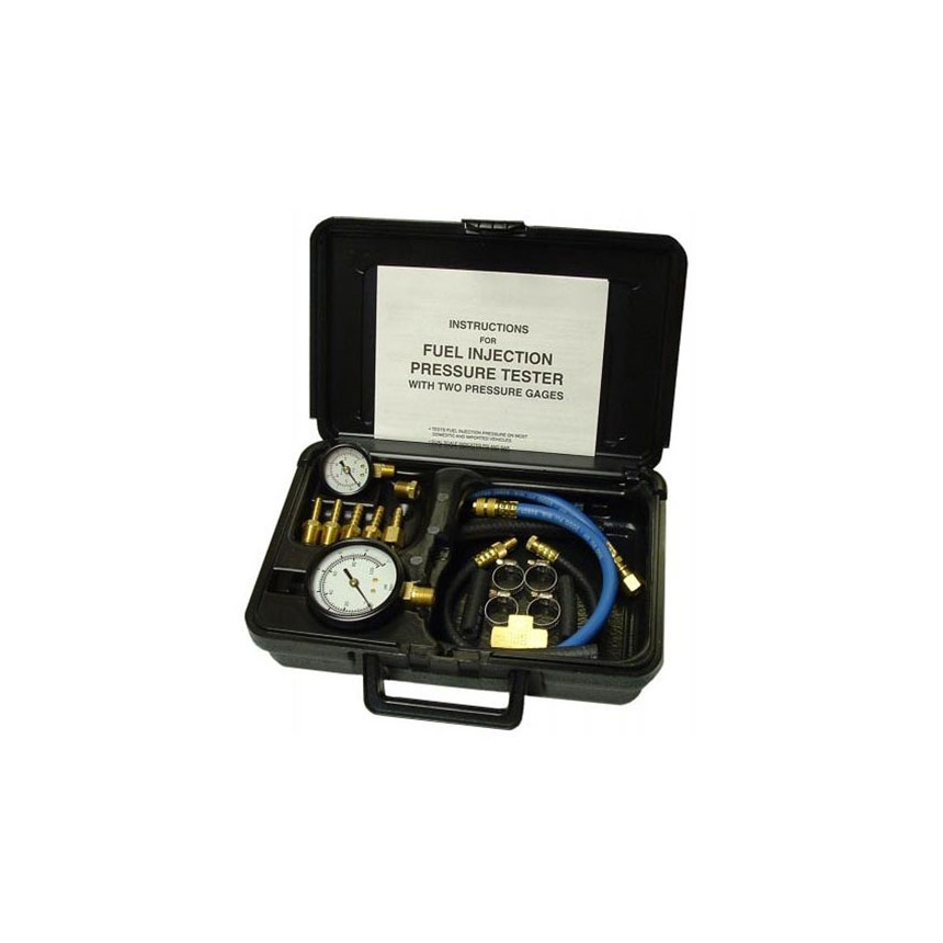 Tool Aid Fuel Injection Pressure Tester with 2 Gages in Case - 33980