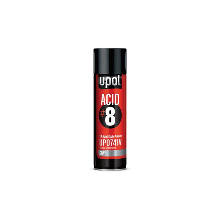 U-POL Acid #8 - 1K Etch Primer Gray - UP0741V