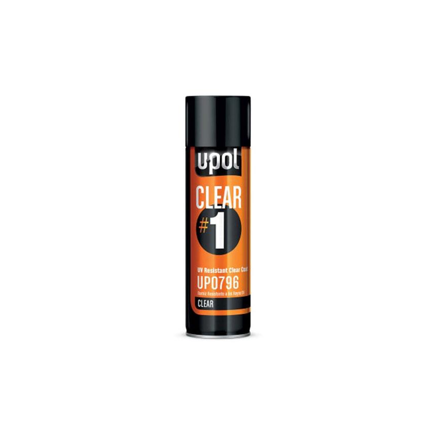 U-POL Clear #1 - High-Gloss Clear Coat - UP0796