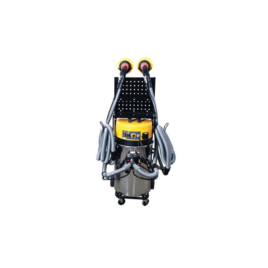 Uni-Ram 2 Hose Mobile Dust Extraction System - UR800QVAC