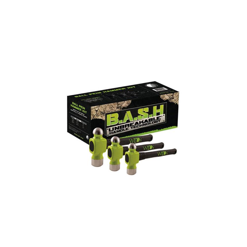Wilton B.A.S.H. 3-PC Ball Pein Hammer Kit - 11110