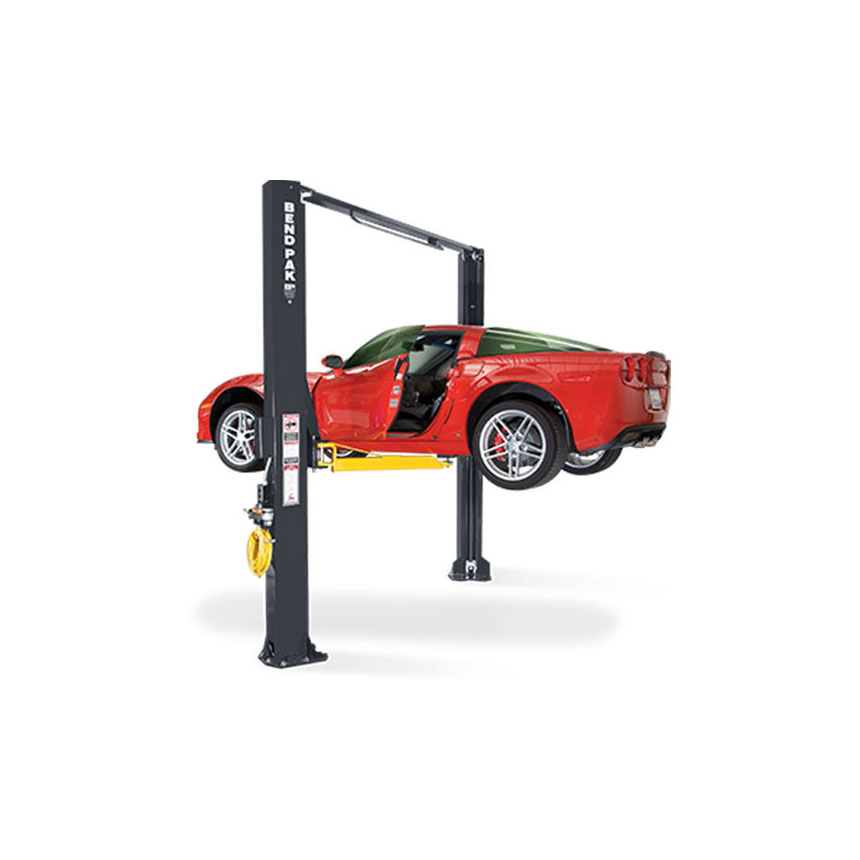 Bendpak 10,000-lb. Asymmetric Clearfloor Adjustable Width Lift, Low-Profile Arms - XPR-10AS