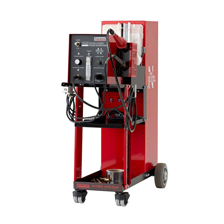 Polyvance Analog Nitro-Fuzer Nitrogen Plastic Welder w/ Cart, Single Gas - 8003