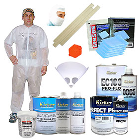 Kirker Paint Urethane/Clearcoat Kit #3