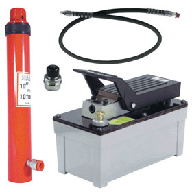 10-Ton Hydraulic Kit w/ OTC Pump