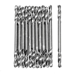 Double End 1/8 Drill Bits - (3 Packs of 12 bits)