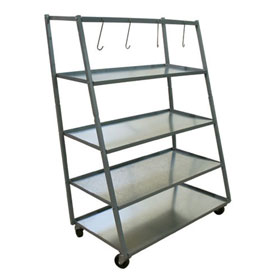 Champ 4 Shelf Parts Rack - 1900