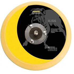"""Mirka Vinyl Faced PSA 6"""" Backup Pad"""
