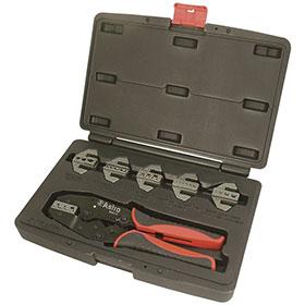 Astro Pneumatic 7-pc. Professional Quick Interchangeable Ratchet Crimping Tool Set - 9477
