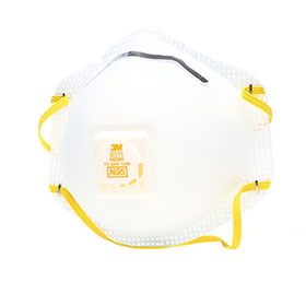 3M N95 Particulate Respirator 8511 with Cool-Flow Valve  - 54343