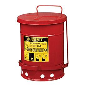 JustRite 6 Gallon Oily Rag Can