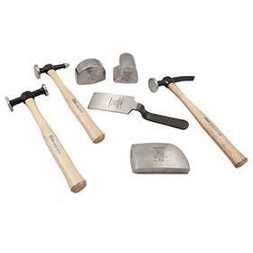 Martin 7-Piece Hammer & Dolly Set