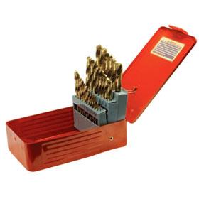 Performance Tool 29 Pc Titanium Drill Bits