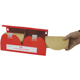 D.A. Sanding Disc Roll Dispenser