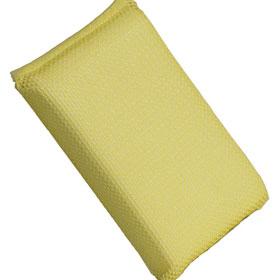 Buff & Shine Yellow Net Bug Sponge - BSA57