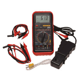 ES Deluxe Automotive Meter With RPM  & Temperature - 585K