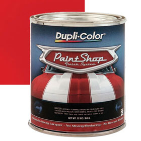 Dupli-Color Paint Shop Finishing System Performance Red Paint - BSP203
