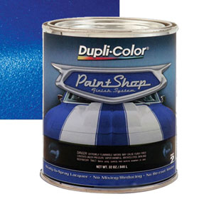 Dupli-Color Paint Shop Finishing System Deep Blue Paint - BSP204